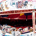 manege chenille 1950 � grande sensation, location de maneges � grande sensation